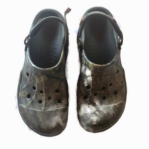 Crocs  Realtree Camo Camouflage Clog Water Sandals